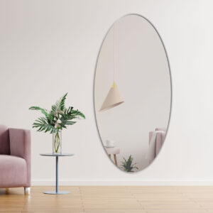 Ovalt spejl