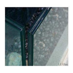 Hærdet lamineret glas