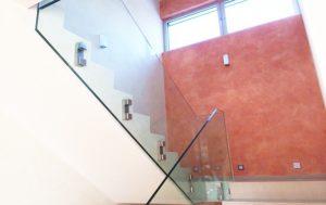 Glasvæn til trapper
