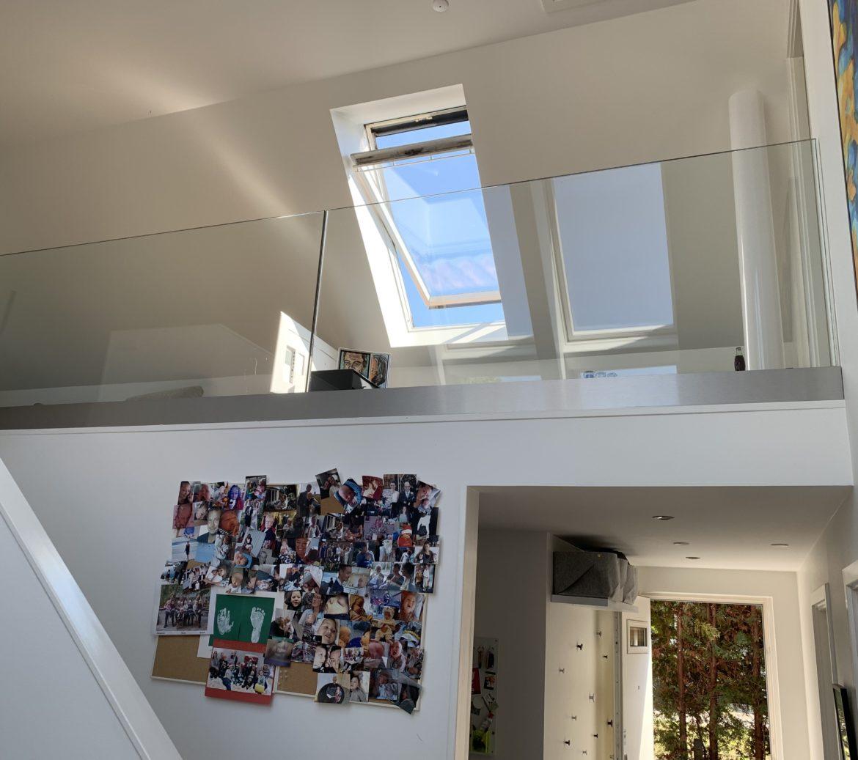 LE Glas stolpefrit glasværn