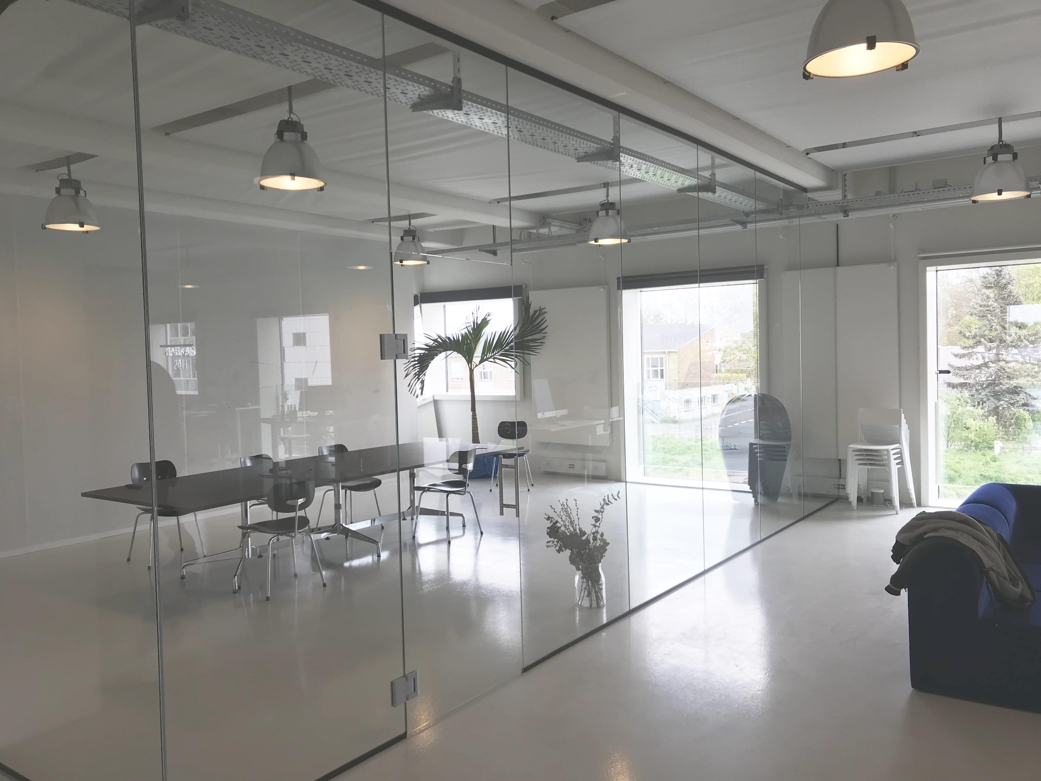 Glasvæg løsning